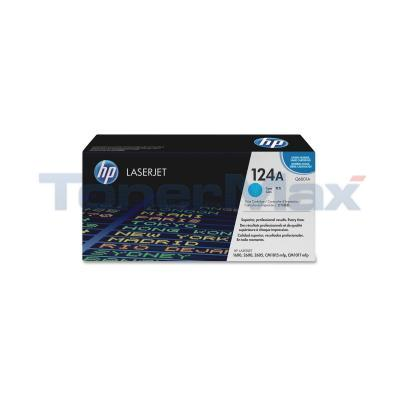 HP NO 124A CLJ-2600 PRINT CARTRIDGE CYAN